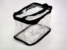 Clear Tote Large Cosmetic Bag Case City Lights 9 1/2 Tote - 403