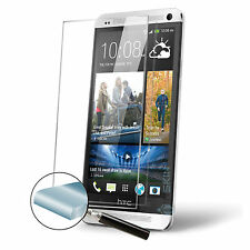 100% Genuine Tempered Glass Film Screen Protector For HTC One M7