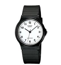 Casio Men's Black Resin Watch, Analog, Water Resistant, MQ24-7B