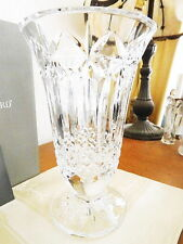 "Waterford Crystal BALMORAL 10"" Vase - MADE IN IRELAND - NEW / BOX!"