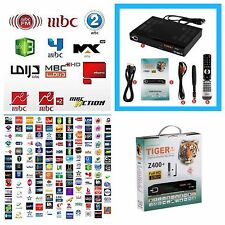 Tiger Z400 Plus HD Arabic IPTV TV Receiver Royal Channels MBC Bein Sports OSN