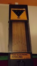 VTG 1978 FOTO ELECTRONIC TABLE TOP BOWLING CADACO GAME