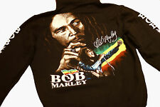 Bob Marley Cotton Hoodie Size. Zip up front. Size MEDIUM
