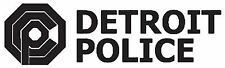 ROBOCOP ( Design 02 ) OCP Detroit Police Car Decal Sticker 20cm x 6cm