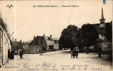 CPA Meaulne-Place de l'Eglise (267004)