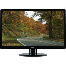 BRAND NEW Acer 21.5 LED-backlit S220HQL PC Monitor Full HD 1920x1080 VGA DVI