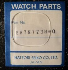 Genuine Seiko SA7N12GN00 watch crystal for 6432-5109.       K229