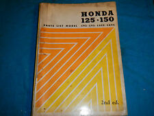 1959-1964 HONDA MOTORCYCLE C92 C 92 95 125 CS92 CS 92 PARTS MANUAL BOOK CATALOG