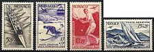 MONACO, PA N° 32 à 35, J. O. LONDRES 1948 série complète neuve**, cote 103 euros