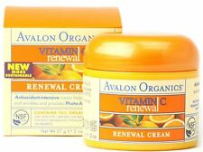 Avalon Organics Vitamin C Renewal Facial Cream 2 oz