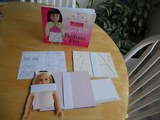 American Girl Fashion Show Paper Doll Fashion Fun