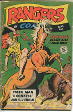 1948 Rangers Comics #43 ~Flame Girl of the Wild West~ (Grade 4.0) WH