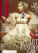 Nicki Minaj W Magazine Nov 2011 Ai Weiwei Madonna Taryn Simon Asia Chow Faberge