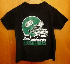 SASKATCHEWAN ROUGHRIDERS toddler med T shirt Canada size 5 kids tee CFL