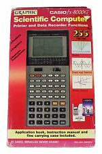 NEW CASIO FX 8000G GRAPHING SCIENTIFIC CALCULATOR Deadstock UNTESTED NOS NIP