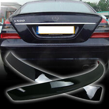 PAINTED Mercedes BENZ W221 L ROOF & A TYPE REAR BOOT TRUNK SPOILER 07-13 ▼