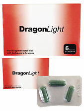 ORIGINAL DRAGON LIGHT PILLS x 3 LIBIDO ERECTION ERECTILE MALE SEX ENHANCEMENT