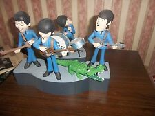 THE BEATLES McFARLANE DELUXE SET TOY MODEL FIGURES WHOLE BAND AND CROCODILE !
