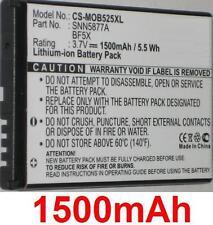 Batterie 1500mAh type BF5X SNN5877A Pour Motorola Defy +