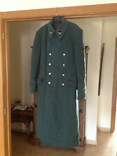 Vintage Hugo Boss GMBH Uniform Metzingen Men's German Overcoat Trench coat