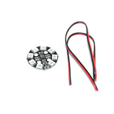 F17710 RGB LED Round Circle Board 5050 X8/16V for FPV RC Multicopter