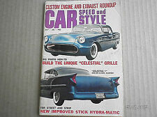 CAR SPEED AND STYLE MAGAZINE  JULY 1961...CUSTOM ENGINE & EXHAUST ROUNDUP