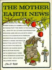 1973 Mother Earth News Magazine #23: Get In Touch With SSTV/Raise Worms/Methane