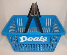 Retail Store Plastic Grocery Shopping Basket