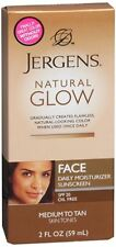 Jergens Natural Glow Healthy Complexion SPF 20, Medium-Tan Skin 2 oz