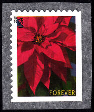 US USA 2013 Flowers - Poinsettia Stamp Self Adhesive Ex Sheetlet, Mint