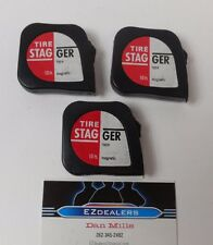 Stagger Tape Tire Tape 3 Pk IMCA,WISSOTA,Modified Dirt,Circle Track,Street Stock