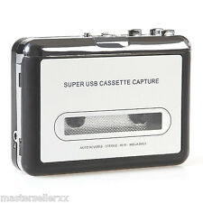 USB Handy Portable Cassette to MP3 Audio Converter Tape-to-MP3 Capture Adapter