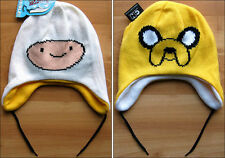 Adventure Time Finn & Jake Reversible Beanie Cap Hat Laplander CARTOON NETWORK