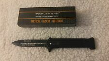 "Joker ""Why So Serious"" Black Assisted Opening Folding Tac Force Knife 8""  New"