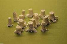 N SCALE SCENERY TREE STUMPS-DEAD STUMPS RESIN KIT