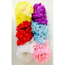 12 X TOP NOTCH LADIES FLORAL HAIR CLAWS ASSORTED COLOURS
