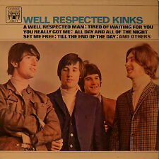 "KINKS - WELL RESPECTED KINKS  12""  LP (M280)"