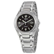 Citizen Eco Drive Titanium Bracelet Mens Watch BM6060-57F