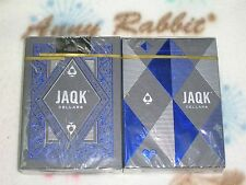 1 decks  JAQK BLUE Playing Cards Deck THEORY 11