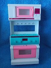 Barbie Doll * Kitchen * Stove, Oven & Microwave * Diorama