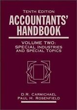 Accountants' Handbook : Financial Accounting and General Topics Volume 1 by...