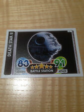 STAR WARS Force Awakens - Force Attax Trading Card #087 Death Star II