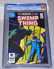 Swamp Thing 21 CGC 9.8 White Pages Alan Moore