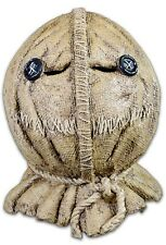 Trick R Treat Sam Burlap Jack-o-Lantern Full Head Halloween Costume Mask BFLE100