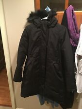 Women's The North Face Arctic Down filled Long parka coat jacket M fur Winter