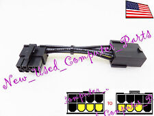 ➨➨➨ Right Angle Female 8-Pin PCI-E to 8-Pin Video Card Adpted Power PSU Ver. 7 ➨