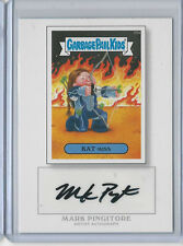Mark Pingitore GARBAGE PAIL KIDS 2014 Topps Autograph Card Kat Miss #35a