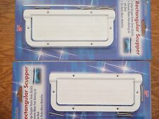 SCUPPER RECTANGULAR 232 LRS2DP PAIR TH MARINE MARINE BOAT HARDWARE BOATINGMALL