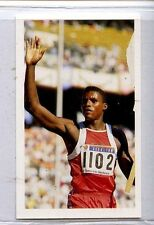 (Jj245-100) RARE, Junior Trade Card of #217 Carl Lewis ,Athlete 1986 MINT