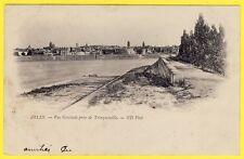 cpa ARLES (Bouches du Rhône) Vue prise du QUAI St PIERRE TRINQUETAILLE Dos 1900